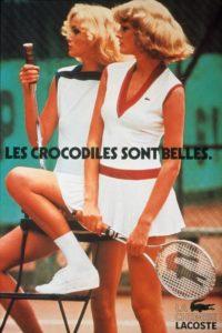 Винтажная реклама Lacoste