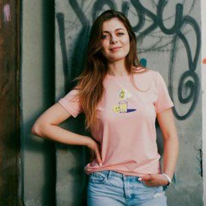 Женская футболка SIL'