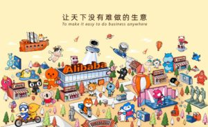 Баннер Alibaba Group