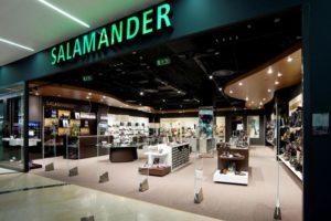 Фирменный магазин Salamander