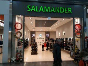 Монобрендовый магазин Salamander