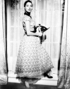 Ава Гарднер в платье от Dior