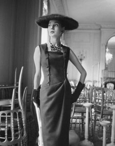 Christian Dior коллекция 50-х