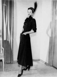 Первая коллекция одежды Christian Dior