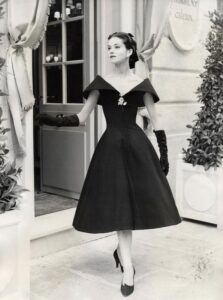 Christian Dior пышное платье 50-х