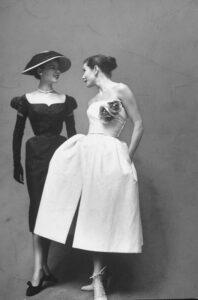 Christian Dior пышные платья 50-х