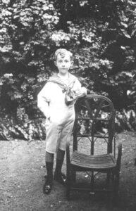 Кристиан Диор в детстве