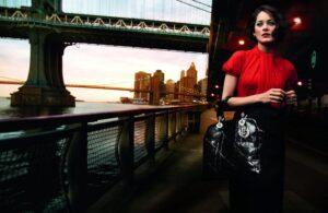 Марион Котияйр в рекламе Lady Dior
