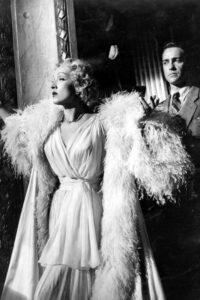 Марлен Дитрих в наряде от Dior