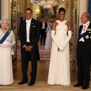 Мишель Обама в платье Tom Ford