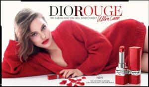 Натали Портман в рекламе помады Rouge Dior