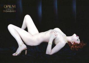 Реклама аромата YSL Opium