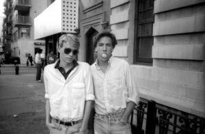 Том Форд и Ричард Бакли в молодости
