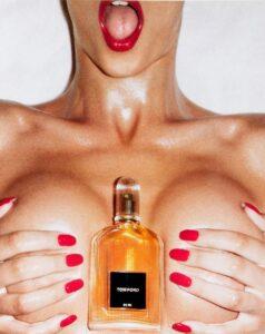 Реклама мужского парфюма Tom Ford for Men
