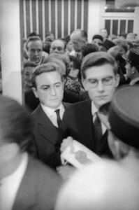 Ив Сен-Лоран с Пьером Берже