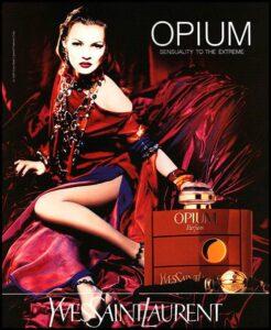 Ретро реклама аромата Opium