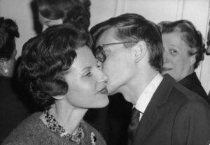 Ив Сен-Лоран с матерью