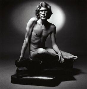 Ив Сен-Лоран в рекламе парфюма Pour Homme