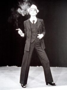 Первый женский смокинг Le Smoking