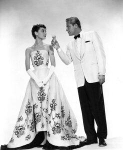 Одри Хепберн в платье от Givenchy