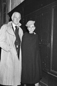 Юбер де Живанши и Одри Хепберн