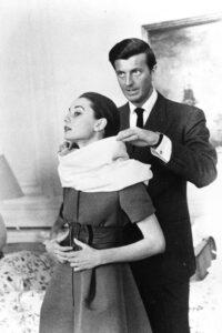 Юбер де Живанши с Одри Хепберн