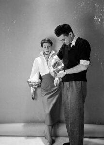 Юбер де Живанши со своей музой Беттиной Грациани