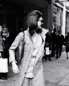 Жаклин Кеннеди с сумкой Gucci