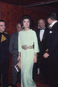 Жаклин Кеннеди в платье от Givenchy