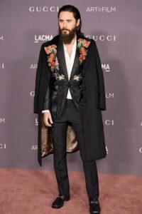 Джаред Лето в наряде от Gucci