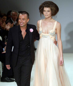 Джулиан Макдональд на показе Givenchy