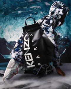 Кожаный рюкзак Kenzo