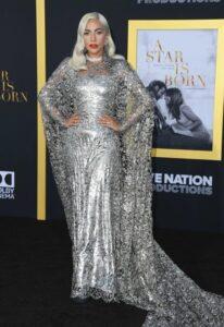 Леди Гага в платье от Givenchy