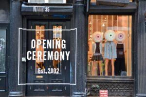 Магазин Opening Ceremony в районе Сохо