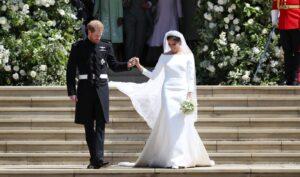 Меган Маркл в свадебном платье от Givenchy