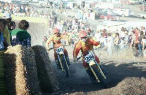 Мотогонщики семидесятых в экипировке Fox Racing
