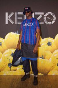 Мужчина в стиле Kenzo