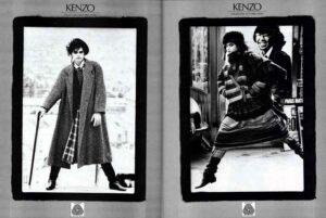 Наряды Kenzo 80-х