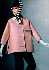 Пальто конца 60-х годов от Givenchy