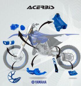 Пластиковые детали Acerbis к мотоциклу Yamaha