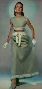 Платье конца 60-х годов от Givenchy