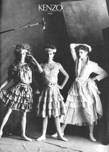 Платья Kenzo 70-х
