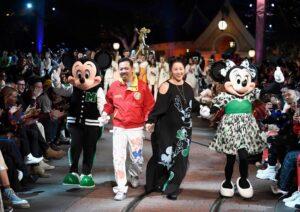 Показ Opening Ceremony в честь 90-летия Микки Мауса