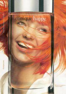 Реклама аромата Clinique Happy