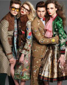 Рекламная кампания Gucci