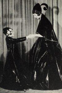 Жанна Ланвен с дочерью Мари-Бланш Маргарет