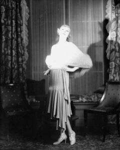 Линн Фонтэнн в наряде от Lanvin