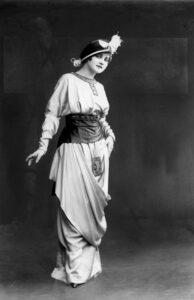 Наряд от Lanvin 1915 год