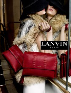 Рекламная кампания Lanvin