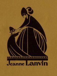Ретро логотип Lanvin